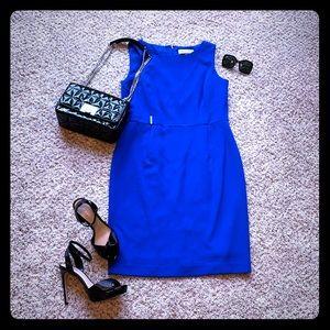 🆕 Ladies Kasper Crepe Sleeveless Sheath Dress